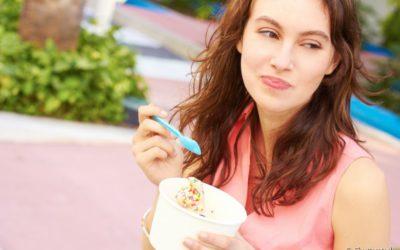 Que tal um sorvete? Aproveite alimentos gelados sem se preocupar com a sensibilidade nos dentes
